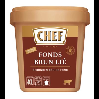 Fonds brun lie 600 g chef