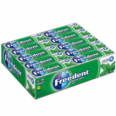 Freedent menthe verte x 30