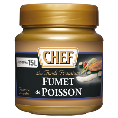 Fumet de poisson 630 g premium chef