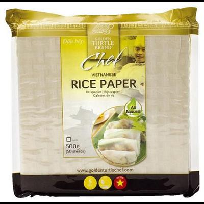 Galettes de riz 19 cm 500 g golden turtle brand 1