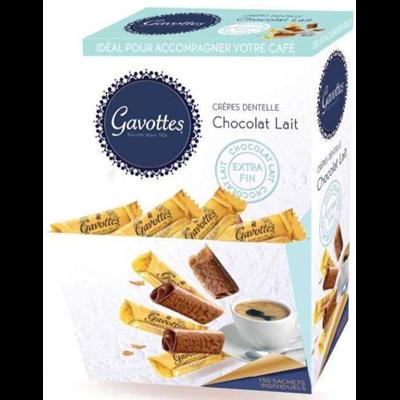Gavotte au chocolat au lait 150 pieces