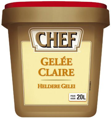 Gelee claire boite 1 kg chef