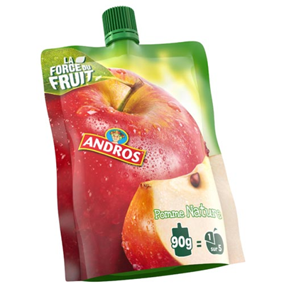 Gourde pomme nature 40 x 90 g andros