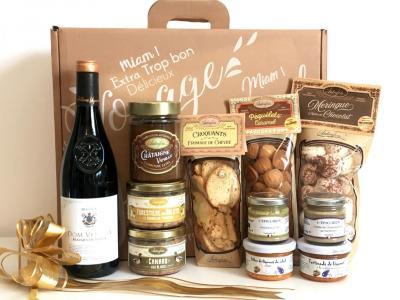 Gourmandises occitanes panier gourmand gard herault ardecheoccitanie