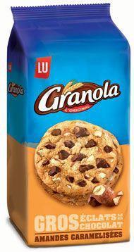 Granola cookies amandes 4 x 184 g lu pour professionnels