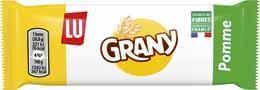 Grany pomme verte barre de cereales 21 g le lot de 20