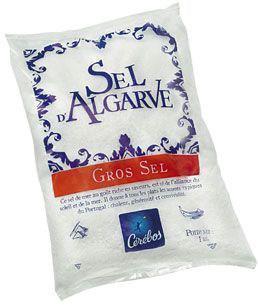 Gros sel d algarve 1 kg cerebos pour professionnels