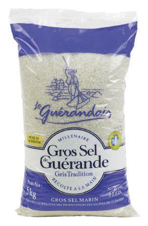 Gros sel de guerande 5 kg le guerandais pour professionnels