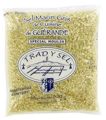 Gros sel de guerande special moulin 500 g trad y sel