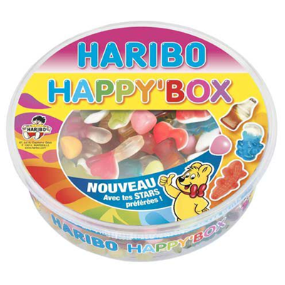 Happy box boite 600 g haribo