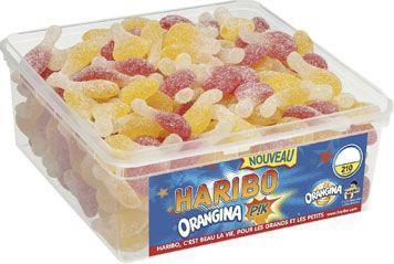 Haribo orangina pik 210 pieces bonbon au kilo en vrac