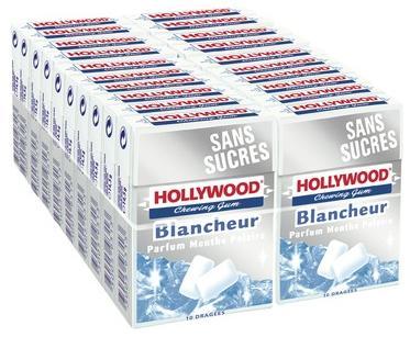 Hollywood blancheur menthe polaire sans sucre x 21
