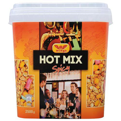 Hot mix spicy melange aperitif 2 5 kg wings