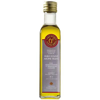 Huile d olive aromatisee a la truffe 250 ml tuber