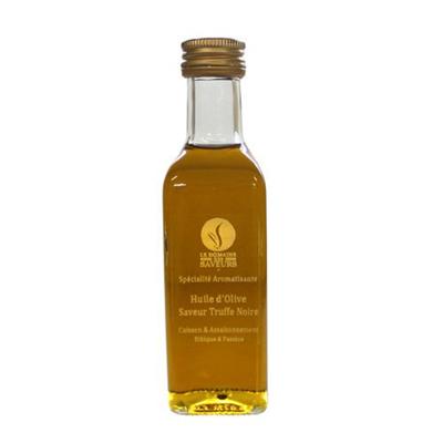 Huile d olive aromatisee a la truffe noire 100 ml domaine d argens