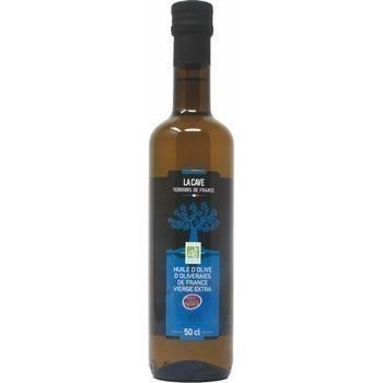 Huile d olive d oliveraies de france vierge extra bio 50 cl