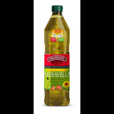 Huile d olive meravella 1 l borges
