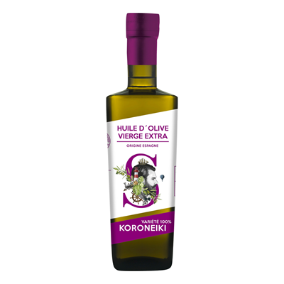 Huile d olive vierge extra 50 cl koroneiki
