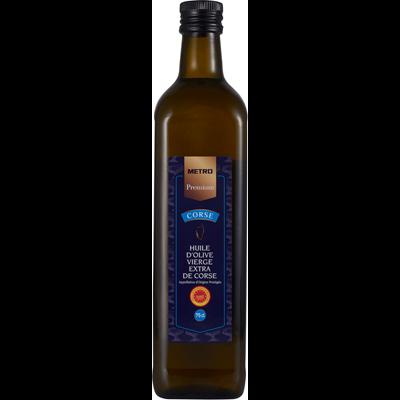Huile d olive vierge extra aoc corse 75 cl metro premium