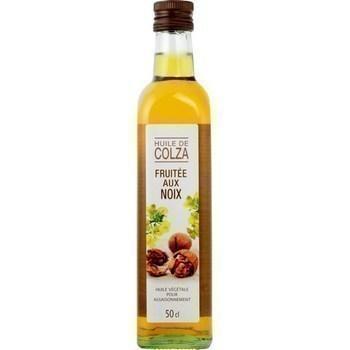 Huile de colza fruitee aux noix 50 cl