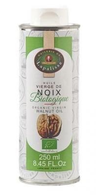 Huile vierge de noix biologique 250 ml huilerie de lapalisse pour professionnels