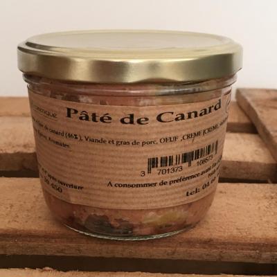 Pâté de canard 21cl ESAT La Cézarenque en Cévennes Concoules