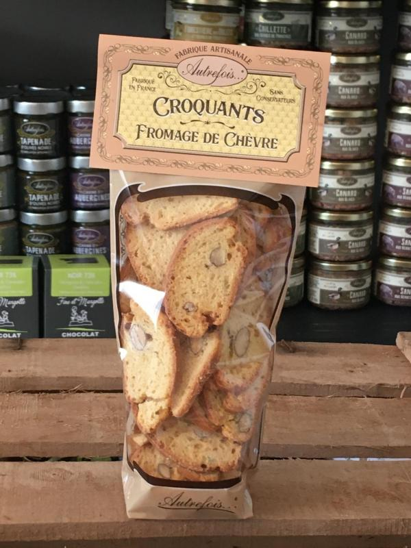 CROQUANT FROMAGE CHEVRE 90G