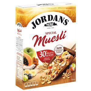 Jordans special muesli 750 g pour professionnels