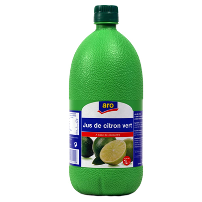Jus de citron vert 1 l aro