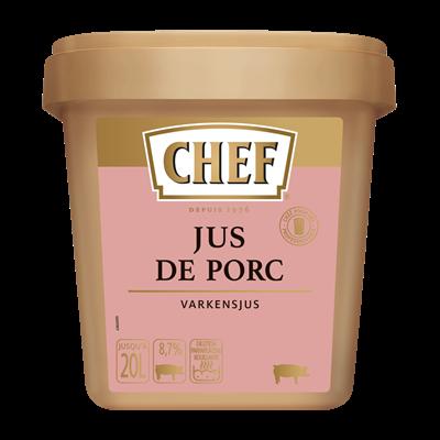 Jus de porc 600 g chef 1