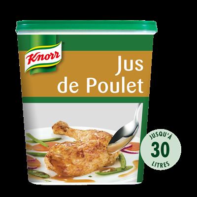 Jus de poulet deshydrate 750 g jusqu a 30 l knorr