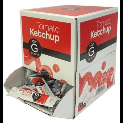 Ketchup en buchettes 10 g gilbert vendu a l unite