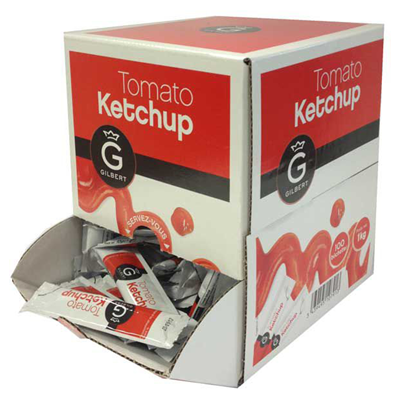 Ketchup en buchettes 100 x 10 g gilbert 2