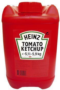 Ketchup heinz bidon 5 9 kg pour professionnels