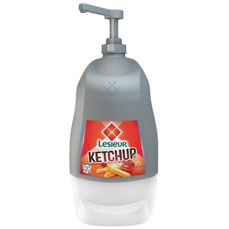Ketchup pingouin 5 5 kg lesieur ppour bureau