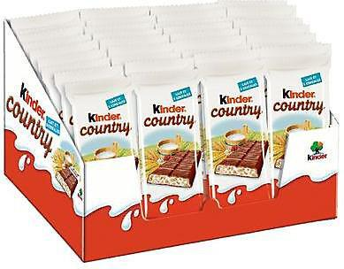 Kinder country 40 x 23 5 g fourniture ccas comites d entreprise et professionnels