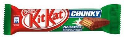 Kit kat chunky noisette 42 g pour professionnels