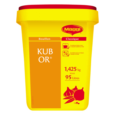Kub or 1 425 kg pour 95 l maggi