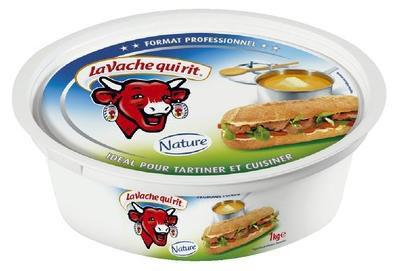 La vache qui rit tartinable bac de 1 kg