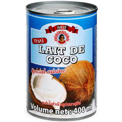 Lait de coco 17 mg 400 ml suree 1