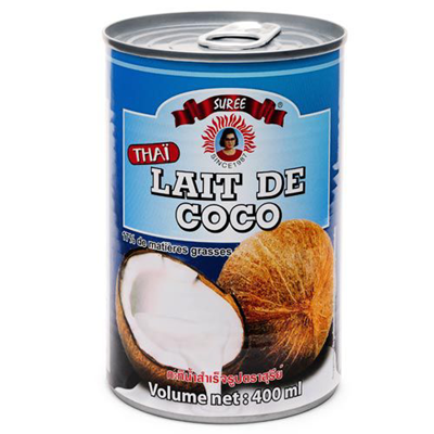 Lait de coco 17 mg 400 ml suree