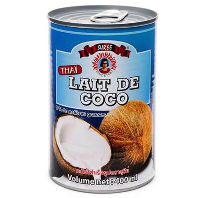 Lait de coco 17 mg 400 ml suree