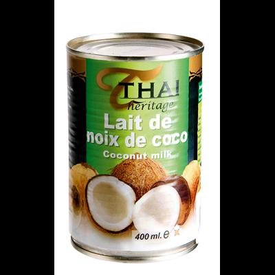 Lait de coco 400 ml thai heritage 1