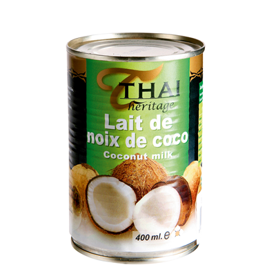 Lait de coco 400 ml thai heritage