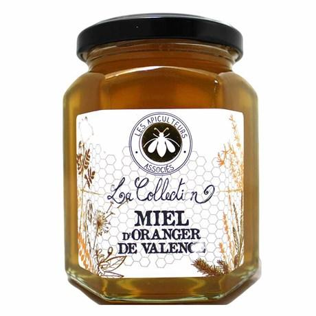 Les apiculteurs associes miel d oranger de valence 375 g pour professionnels