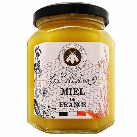 Les apiculteurs associes miel de fleurs de france 375 g pour professionnels