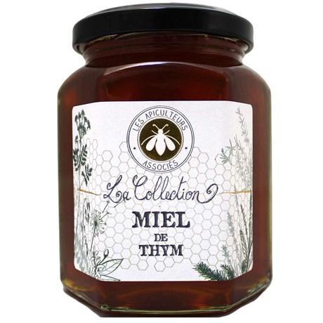Les apicultureurs associes miel de thym 375 g pour professionnels