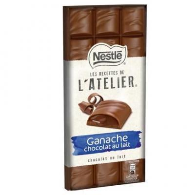Les recettes de l atelier ganache chocolat au lait 150 g pour bureau