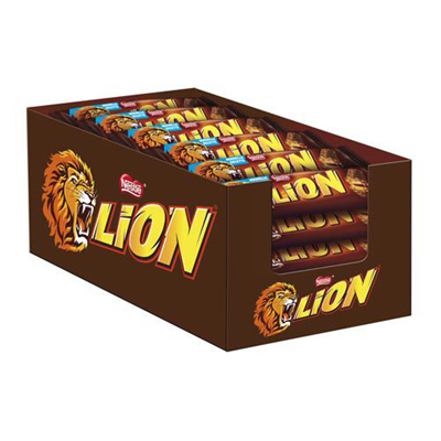 Lion barre 42 g nestle les 24