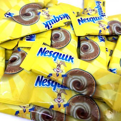 Lot de 10 sticks de chocolat en poudre 13 5 g nesquik 1